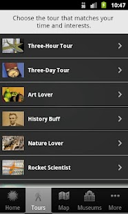 Smithsonian VisitorGuide/Tours - screenshot thumbnail
