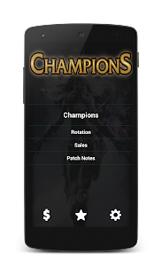 League of Legends Champions - screenshot thumbnail