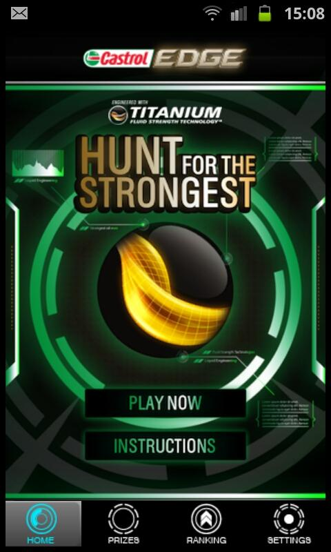 Castrol Hunt - screenshot