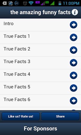 【免費娛樂App】The Amazing Funny Facts-APP點子