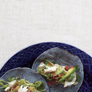 Fish Tacos with Spicy Slaw.
