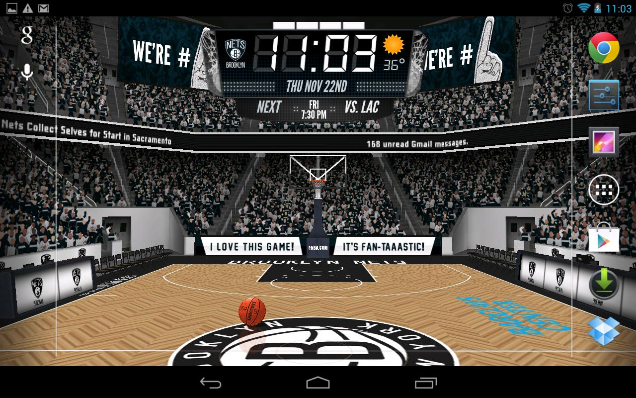 NBA 2012 3D Live Wallpaper - screenshot