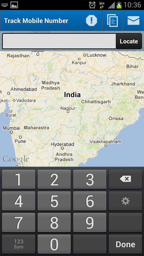 Mobile Number Tracker (India)- screenshot