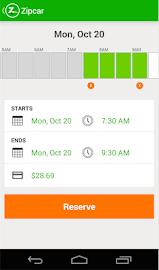 Zipcar Screenshot 6
