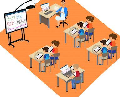 Virtual and Smart Classroom - náhled