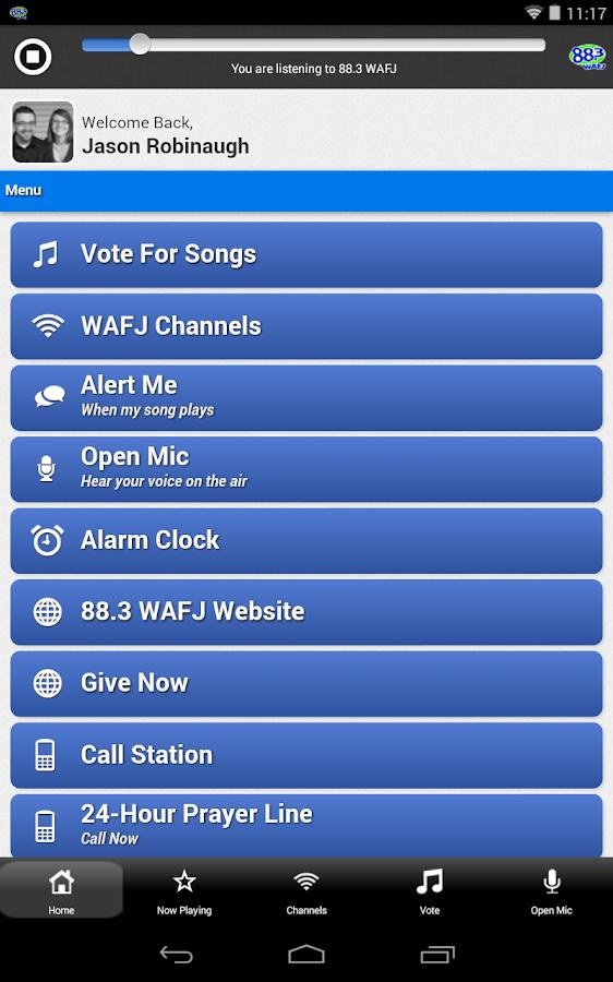 WAFJ - screenshot