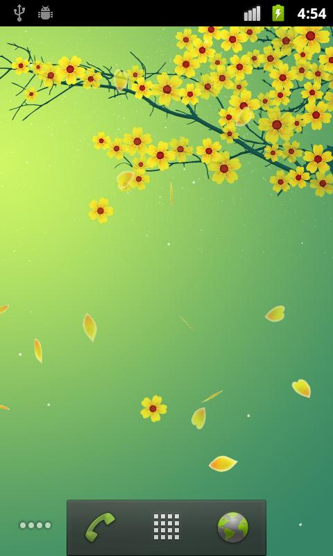 Sakura Pro Live Wallpaper Screenshot