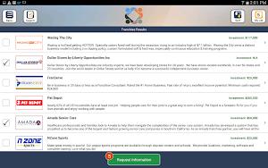 Franchise Opportunities app screenshot
