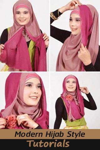 Modern Hijab Style Tutorial