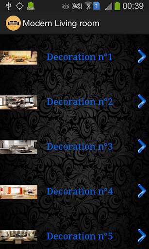 Modern Living rooms 2015