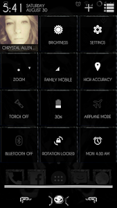 YGX-Nightmare CM11 Theme screenshot 6