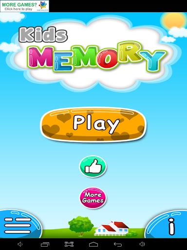 Kids Memory Food