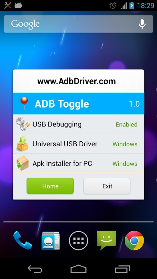 ADB Toggle - screenshot