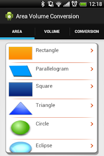 Area Volume and Conversion- screenshot thumbnail
