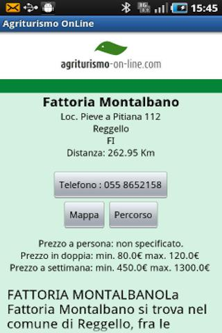 Agriturismo On Line- screenshot