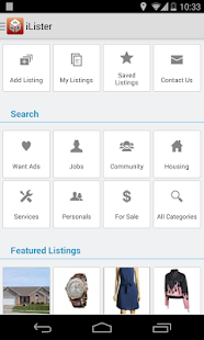 iLister Classified Advertising - screenshot thumbnail