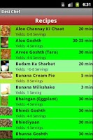 Screenshot of Desi Chef