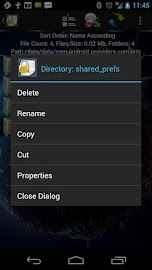 Shady File Manager (root) Free Screenshot 8