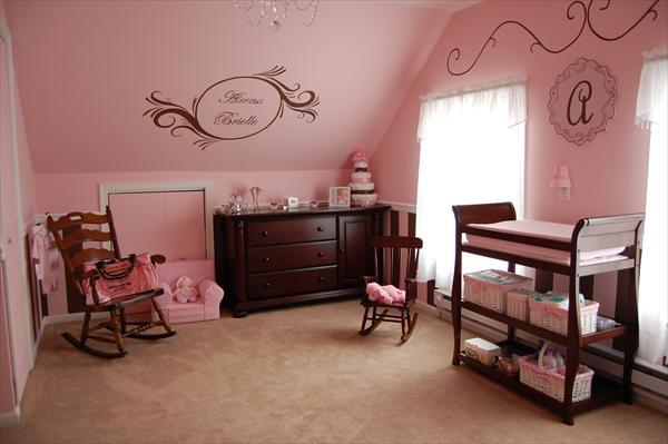 Pink and brown baby room ideas android apps on google play for Brown pink bedroom ideas
