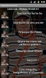 Chavinho Groove sons do Chaves - screenshot thumbnail