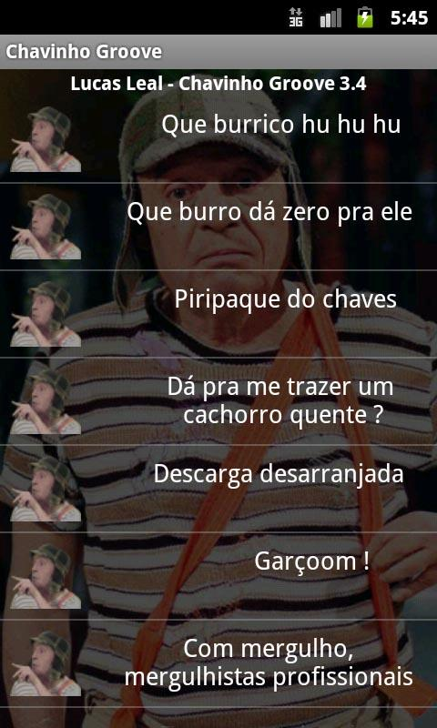 Chavinho Groove sons do Chaves - screenshot
