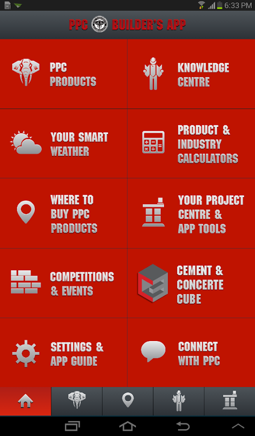 PPC Builder's App- screenshot