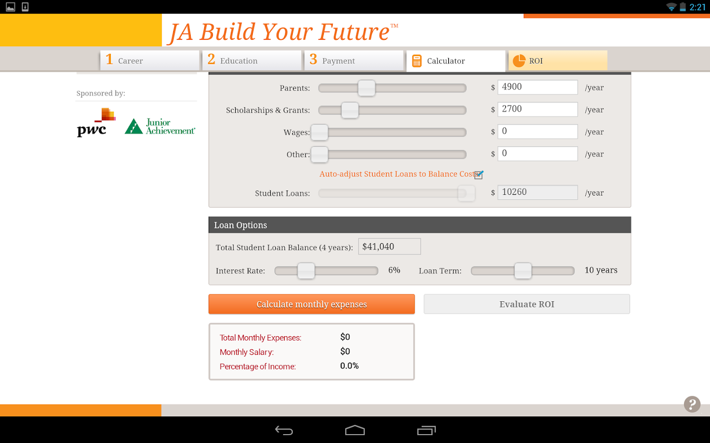 JA Build Your Future™ - screenshot