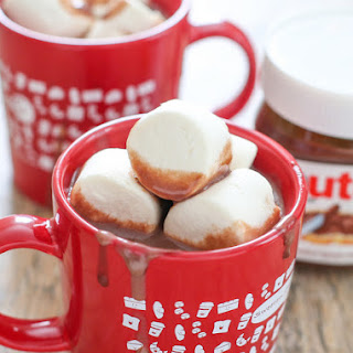 Thick Nutella Hot Chocolate