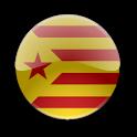 Estelada Vermella Clock Widget icon