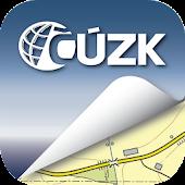 Mapy ČÚZK
