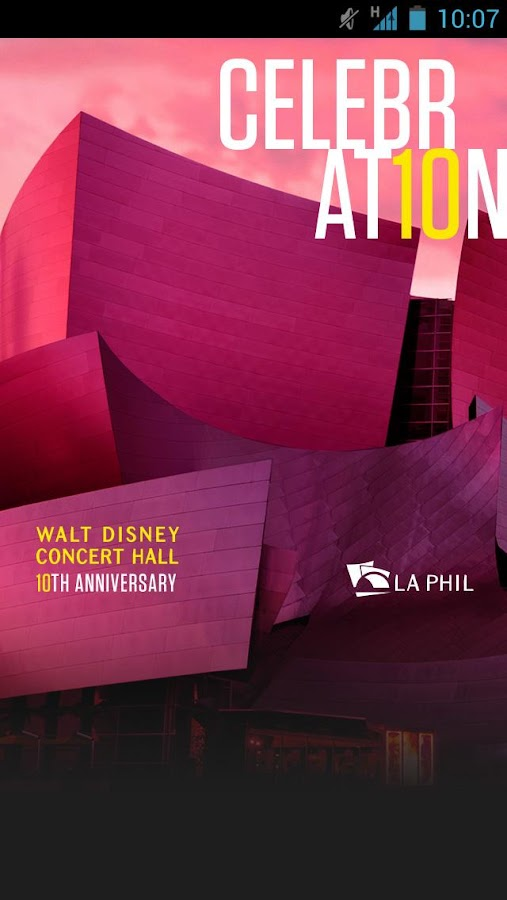 LA Phil - screenshot