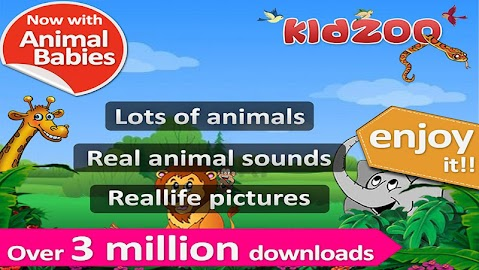 Kids Zoo,Animal Sounds & Photo Screenshot 25