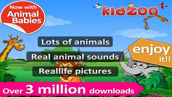 Kids Zoo,Animal Sounds & Photo - screenshot thumbnail
