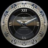 Clock Widget Iron Steel