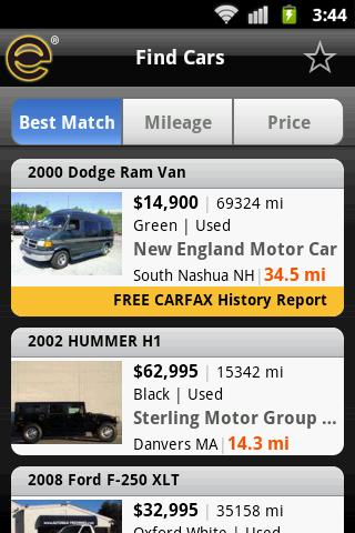 EveryCarListed - screenshot