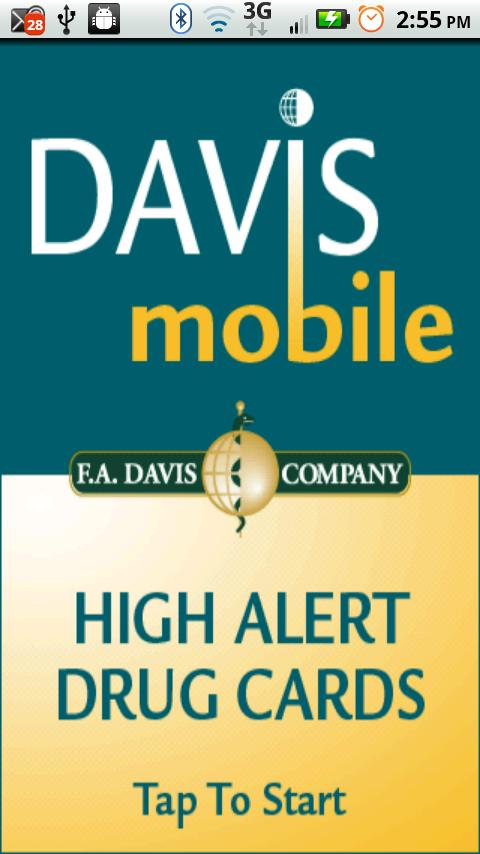 Davis Mobile High Alert Cards - screenshot