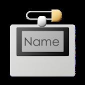 Name Tag Builder