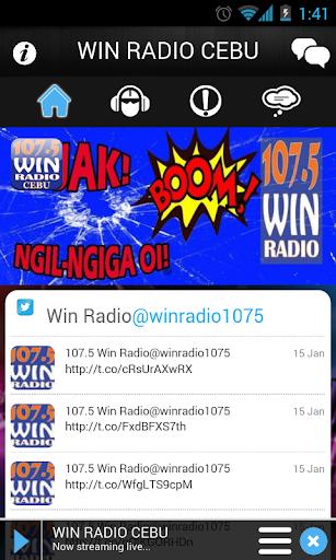 107.5 Win Radio Cebu