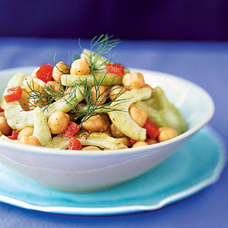 Fennel-and-Chickpea Salad