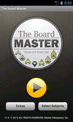 Board Master Army Flashcards