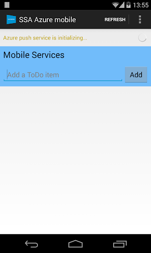 SSA Azure mobile utility