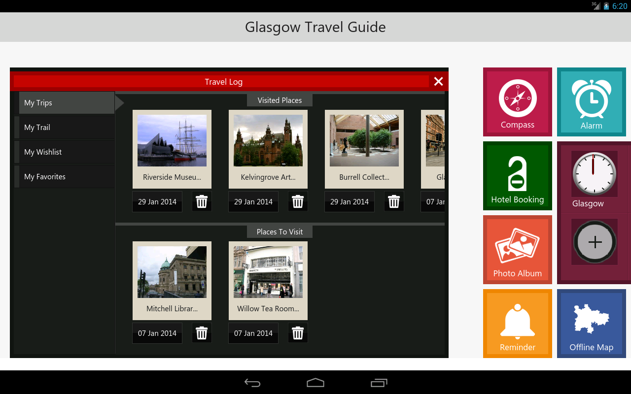 Glasgow Travel - Pangea Guides- screenshot