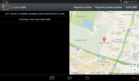 Live traffic android apps on google play live traffic screenshot thumbnail sciox Image collections
