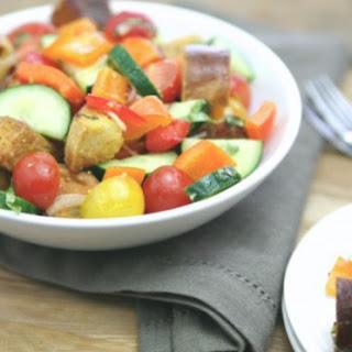 Pretzel Panzanella Salad