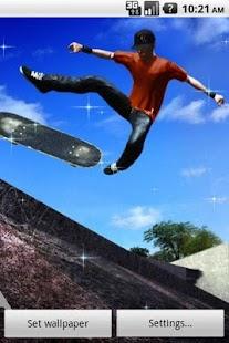 瘋狂滑板動態壁紙