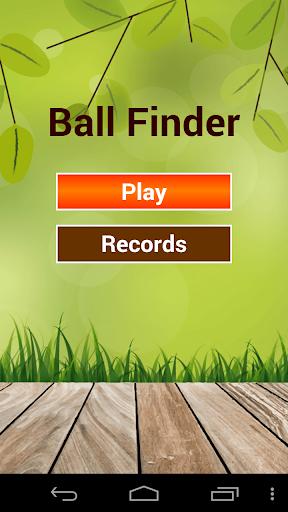 Ball Finder