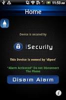 Screenshot of iSecurity