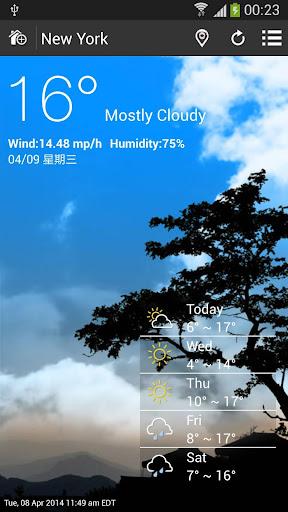 玩天氣App 天候免費 APP試玩