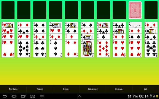 四十大盗接龙纸牌游戏