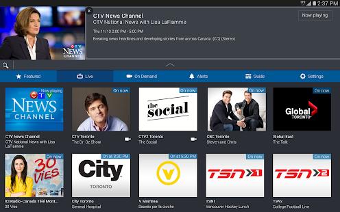 Bell TV - screenshot thumbnail